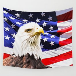 Bald Eagle Wall Tapestry