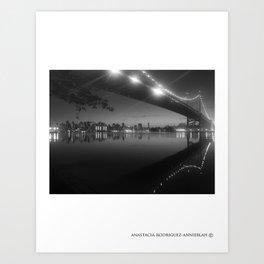PASSING REFLECTION Art Print