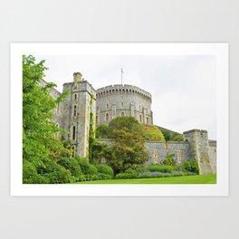 Majestic Windsor Castle Art Print