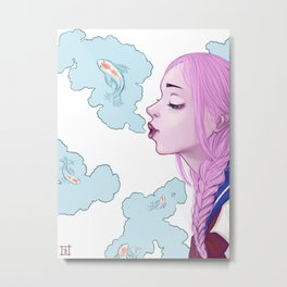Vape Dreams  Metal Print