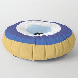 Good Luck Blue Eye - Charm Floor Pillow