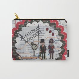 Celebrate London Carry-All Pouch