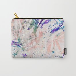 Abstract colorful plant Carry-All Pouch