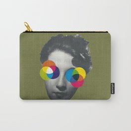 Psychedelic glasses Carry-All Pouch