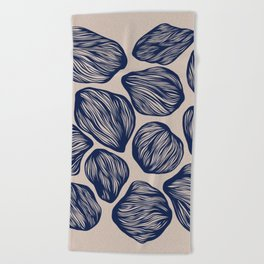 Organic Shapes 1 Beach Towel