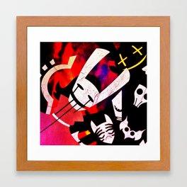 The Wrong Masks Framed Art Print