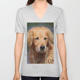 extraordinary animals -Dog 1 Unisex V-Neck