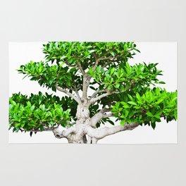 Leafy Bonsai Tree Rug