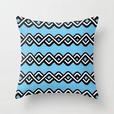 Digital weave Throw Pillow