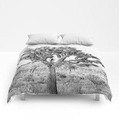 Joshua Tree Giant by CREYES Comforters
