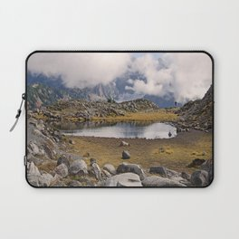 BLUE AND GOLD MOUNTAIN SOLITUDE Laptop Sleeve