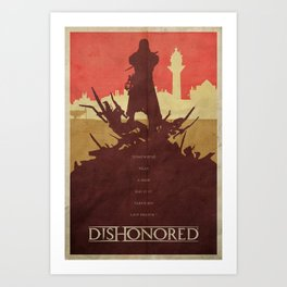To the Rats - Dishonored Poster Art Print