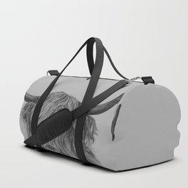 highland cow art Duffle Bag