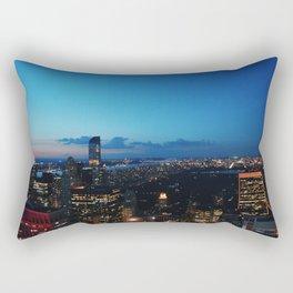 New York lights Rectangular Pillow
