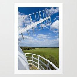 Horsey Windpump - Windmill Art Print