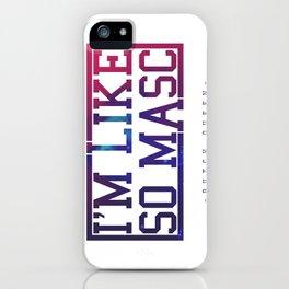 BQ - Like Masc iPhone Case