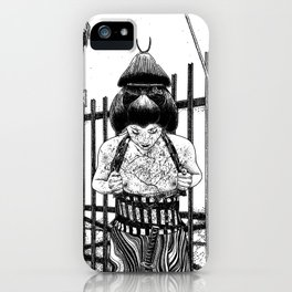 asc 589 - La maison close (No trespassing) iPhone Case
