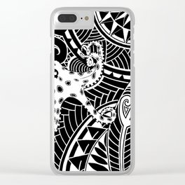 tribal Clear iPhone Case