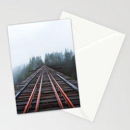 Abandoned Railroad Vance Creek Bridge - Olympic National Park, Washington Stationery Cards