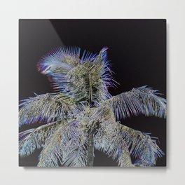 Radiant Palm Metal Print