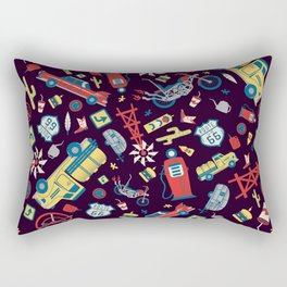 I Heart Route 66 Rectangular Pillow