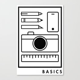 Basics Canvas Print
