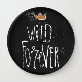 Wild Forever Wall Clock