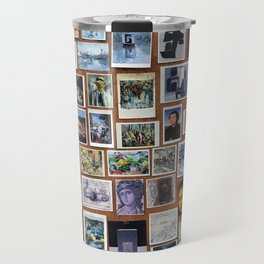 Wooden Postcard Wall Travel Mug
