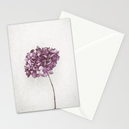 Pink Hydrangea Stationery Cards