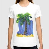 palm tree T-shirts featuring Palm Tree  by Thom Lupari