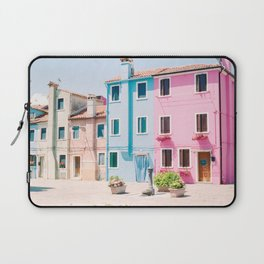 Colorful houses in Burano Laptop Sleeve