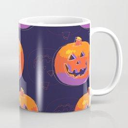 pumpkin with halloween Coffee Mug