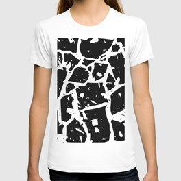 Black & White Classy Terrazzo T-shirt