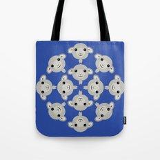 Sheep Circle - 3 Tote Bag