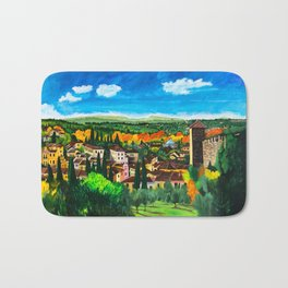 View from Boboli Bath Mat