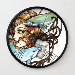 Our Oceans Wall Clock