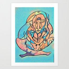 Tears of the Divine Feminine Art Print