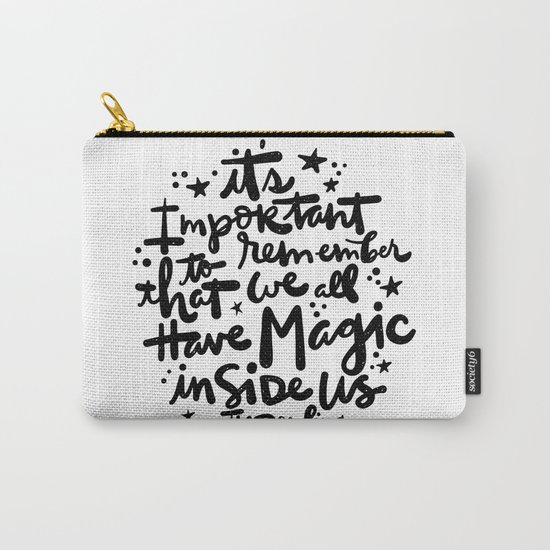Magic Inside Carry-All Pouch