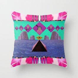 Simetria Celestial II  Throw Pillow