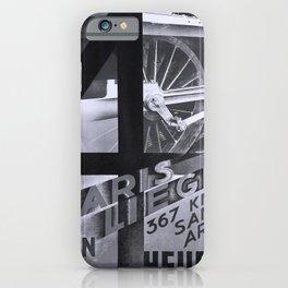 Affiche NORD Paris Liege iPhone Case