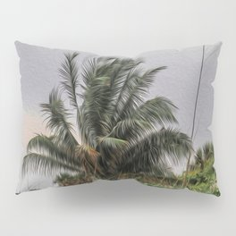 The Wild Palm Tree Pillow Sham