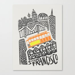 San Francisco Cityscape Canvas Print