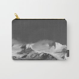 Snowy Peaks - Landscape and Nature Photography Carry-All Pouch