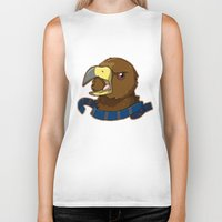 ravenclaw Biker Tanks featuring Ravenclaw by Clair C