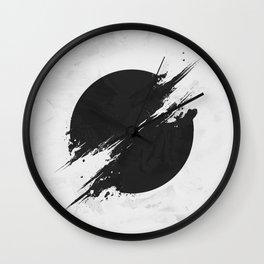 The Sun Is Black Wall Clock