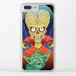Mars ATTACK!!! Clear iPhone Case