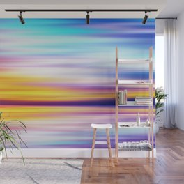 Abstract Sunset X Wall Mural