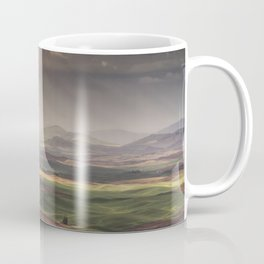 Rainbow over the Palouse Coffee Mug