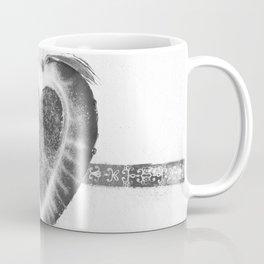 Black and White Stawberry Coffee Mug