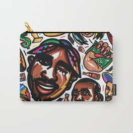 Eztaughtme Collage Carry-All Pouch